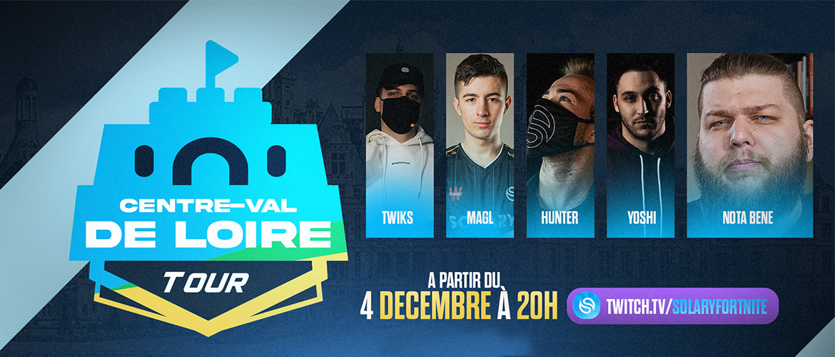 Centre-Val de Loire : Fortnite tour